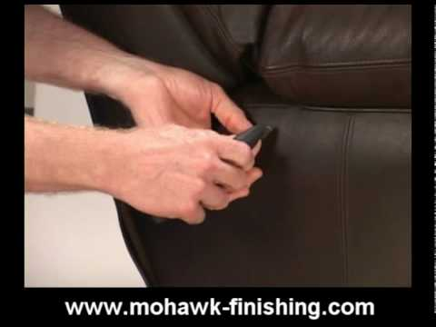 Bon 46 How To Repair Cuts And Holes In Leather By Mohawk Finishing Products.mpg