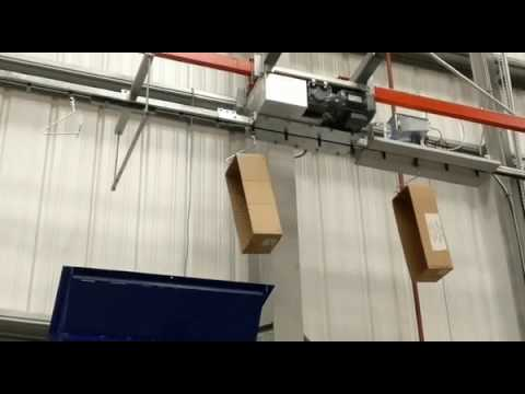 Power track 30 - Waste carton delivery conveyor system
