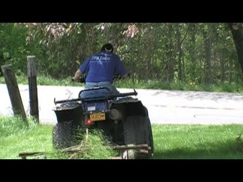 Redneck Lawn Mower 1960 Quot S Pull Behind Youtube
