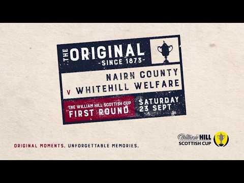 Nairn County 1-0 Whitehill Welfare | William Hill Scottish Cup 2017-18 – First Round
