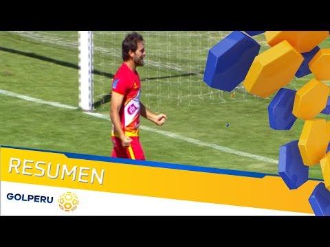 Resumen - Sport Huancayo vs Comerciantes Unidos (3-1)