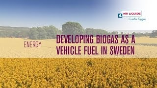 Developing biogas vehicle fuel in Sweden