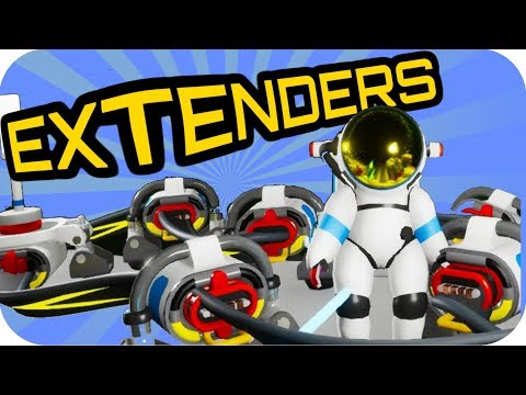 Astroneer EXTENDERS OF THE POWER!! 🚀BASE BUILDING UPDATE 🚀#2