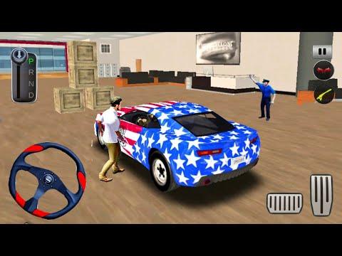 Car Driving Simulator Stunt Ramp - Impossible Smash Car Hit - Android IOs Gameplay