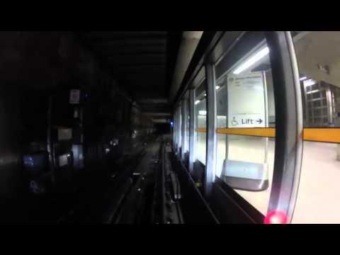 Cab view   Jubilee Line   Stratford - Southwark