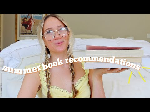 Summer Book Recommendations! *the Ultimate Beach Reads* 2020