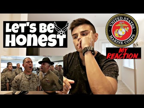 AIR FORCE REACTS TO MARINE CORPS BOOT CAMP - BLACK FRIDAY