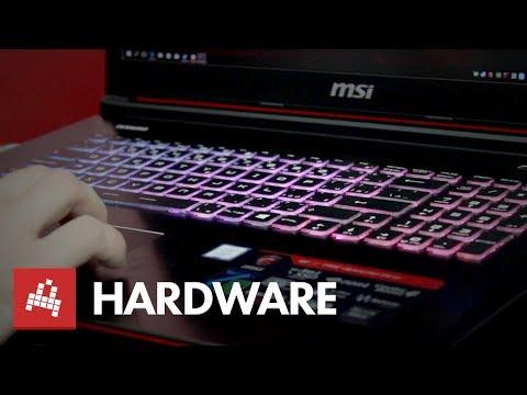 Otestovali jsme notebook určený pro hraní i práci MSI GE72 - Hardware