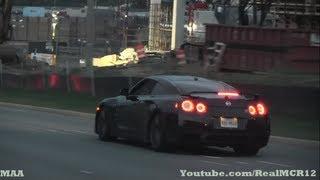 LOUD Nissan GTR on the Road
