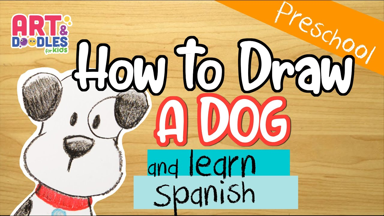 Let's draw and learn some Spanish words