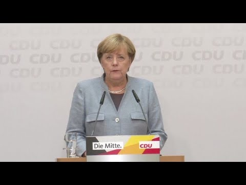 Merkel busca aliados tras su ajustada victoria