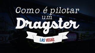 Como é pilotar um Dragster - WebMotors