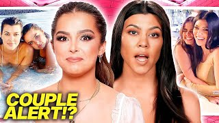 is Addison Rae really HOOKING UP with Kourtney Kardashian?!