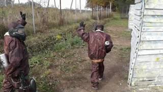 8 октября 2016 г. школьники - детский пейнтбол в Тульском Легионе