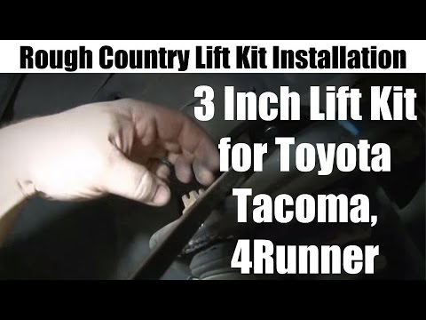 rough country 3 inch lift kit installation for toyota tacomarough country 3 inch lift kit installation for toyota tacoma, 4runner tutorial and review youtube