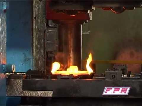 Sumitomo TFPA 5000 ton steel hot forging press