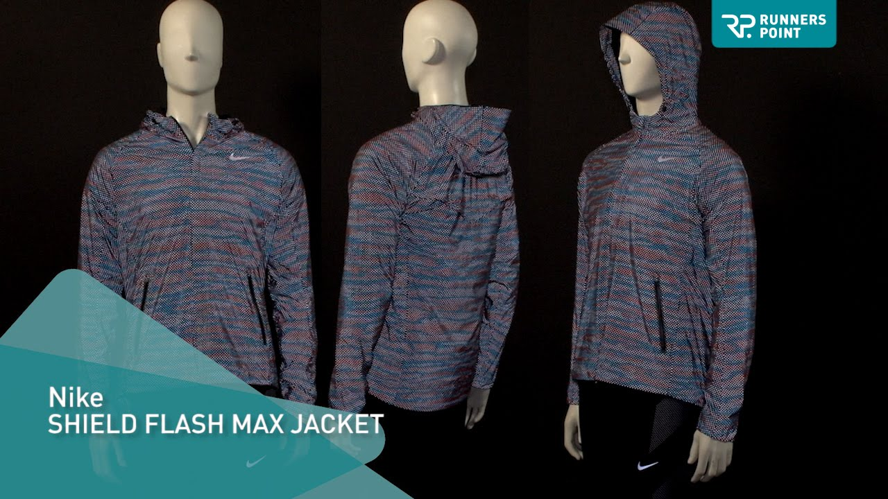 Nike jacket flash - Nike Shield Flash Max Jacket