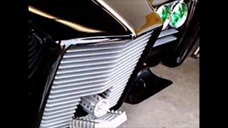 1966 Black Beauty Green Hornet Imperial Crown Sedan Blk DaytonaTurkeyRodRun112616