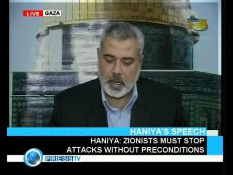 Ismail Haniya interview on 31 December 2008 (with English translation)
