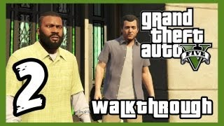 "Grand Theft Auto V Walkthrough PART 2 [PS3] Lets Play Gameplay TRUE-HD QUALITY ""GTA 5 Walkthrough"""