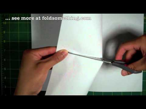 How to make paper booklets without tape, glue or staples