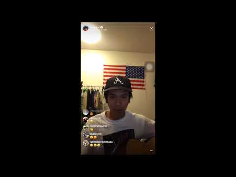 Iqbaal Ramadhan - Hello You (Instagram Live) - Good Quality