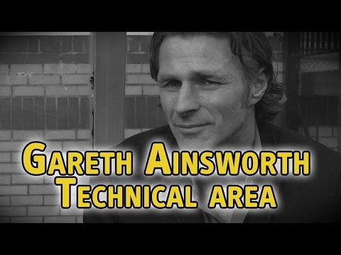 Gareth Ainsworth - Technical Area - The Fantasy Football Club