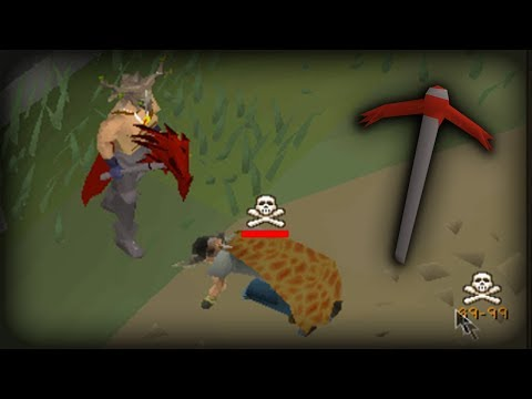 Miner Gone Rogue!   Dragon Pickaxe Pure PKing