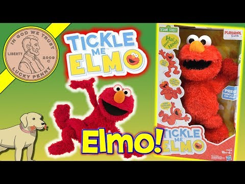 NEW! Tickle Me Elmo Is Back And He Is As Ticklish As Ever! Comparing An Original Tickle Me Elmo