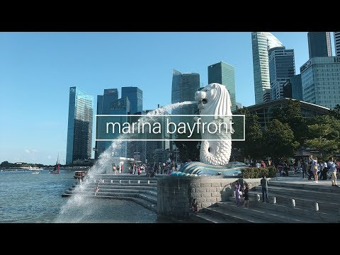 Dorm Tour + Exploring Marina Bayfront || VLOG