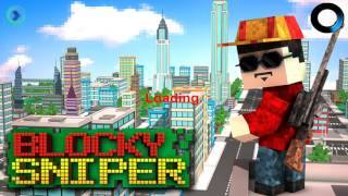 Blocky City Sniper 3D By Awesome Action Games - HD Android Gameplay