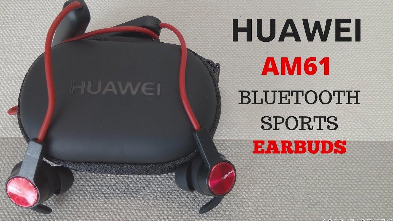 f44475f851f HUAWEI Honor xSport AM61 Wireless Bluetooth Sports Earbuds Review  Greek(Ελληνικη Παρουσίαση). Unbox Academy