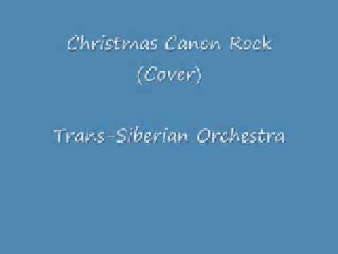 Christmas Canon Rock (Cover) - Trans-Siberian Orchestra - YouTube