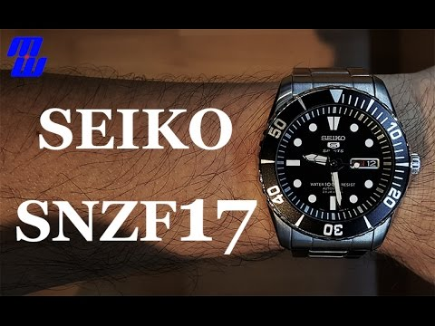 "Seiko 5 Sports SNZF17 ""Sea Urchin"" - Review, Measurements, Lume, Strap Changes, Future Mods?"