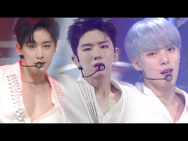 《Comeback Special》 MONSTA X (몬스타엑스) - INTRO + SHINE FOREVER @인기가요 Inkigayo 20170625