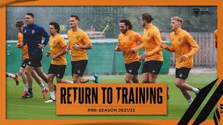 Return to Training   Pre Season 2021/22