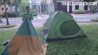Cách gấp lều cắm trại 4 người eureka backcountry hai lớp - ShopLeu.com