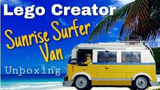 Lego #31079 Sunrise Surfer Van Unboxing