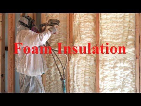 Foam insulation - How good is it?   Texas Barndominiums Episode 48
