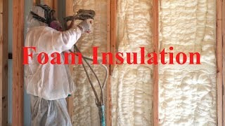 Foam insulation - How good is it?   Texas Barndominiums Episode 48