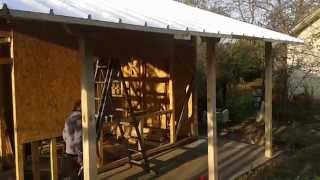 Дървена сглобяема къща в района на В. Търново част 2