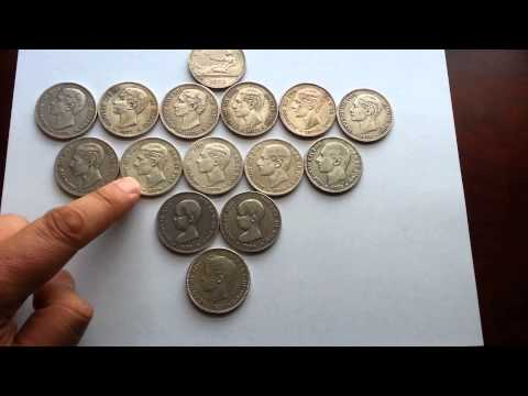 How to Invest in Spain 5 Pesetas Silver Constitutional Silver Coins
