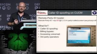DEF CON 22 - VoIP Wars - Attack of the Cisco Phones