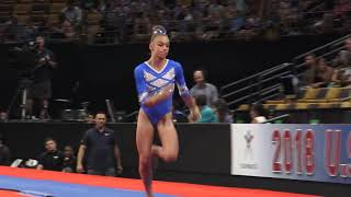 Grace McCallum - Vault – 2018 U.S. Gymnastics Championships – Senior Women Day 1