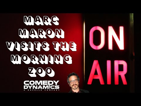 Marc Maron Visits The Morning Zoo - Marc Maron: Thinky Pain