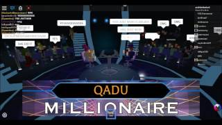 WWTBAM? (Roblox, TOF) - Season 1 Winner!