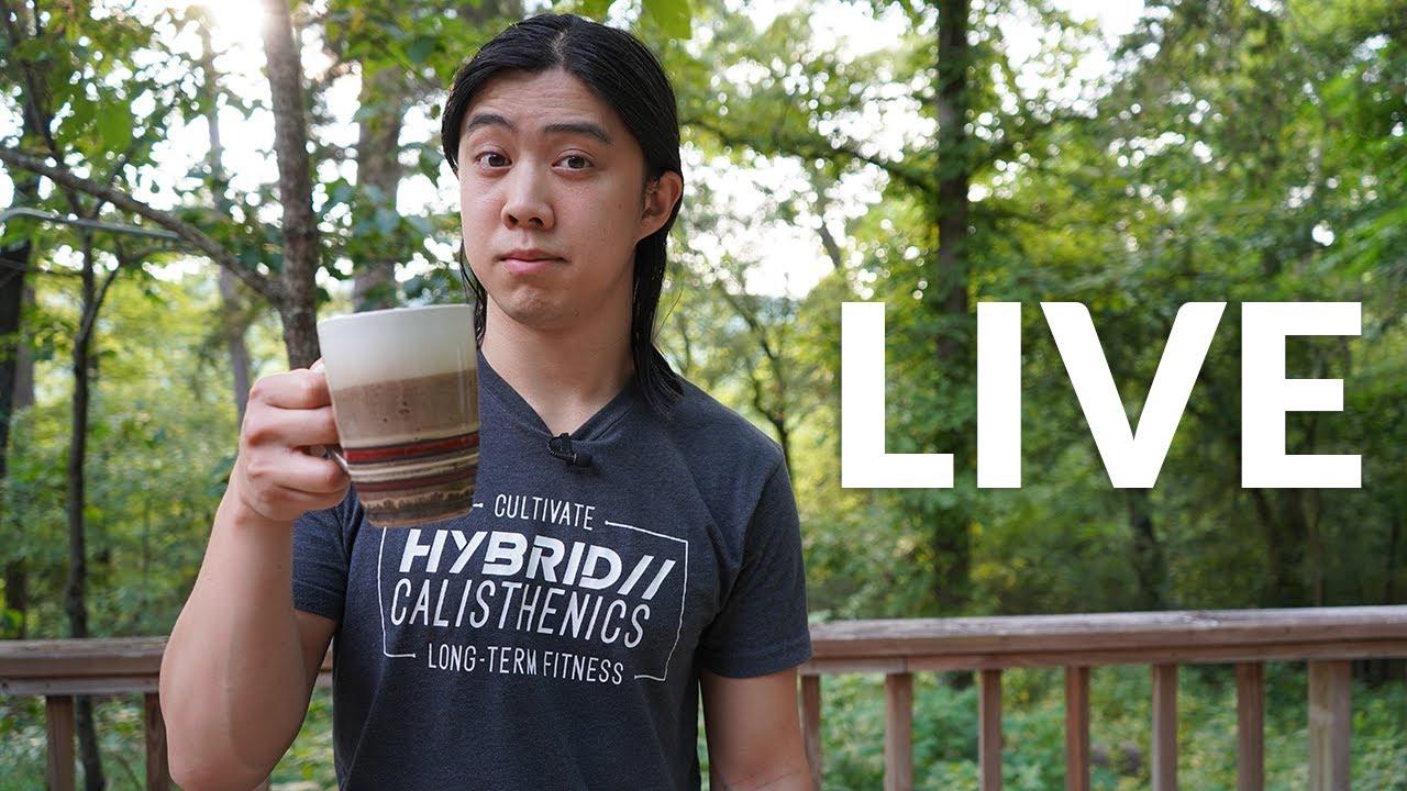 LIVE Coffee With Hampton - July 26, 2021