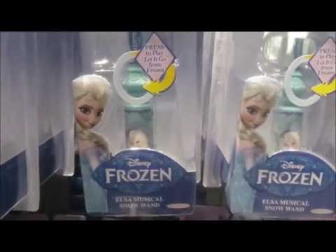 Frozen Elsa's Musical Snow Wand Disney Toy review by ToystoSurprise