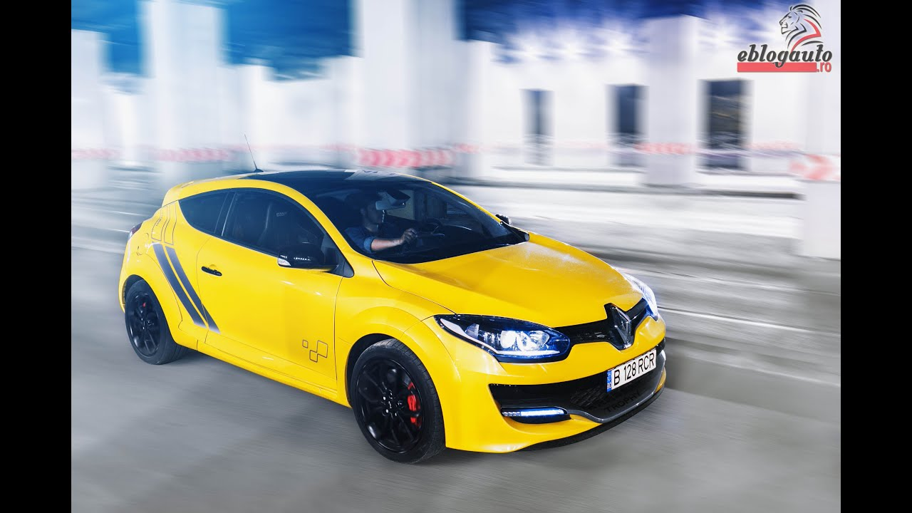 renault megane rs trophy test drive review youtube. Black Bedroom Furniture Sets. Home Design Ideas