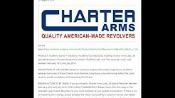 Charter Arms Lady  38 Special Revolvers sold at Academy Sports